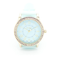 Roman number jelly watch (3 colors)