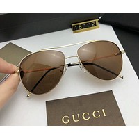 GUCCI fashion brand men and women with the same trend cool frog mirror F-A-SDYJ NO.4