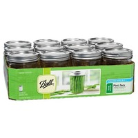 Ball 12ct Wide Mouth Pint Jars