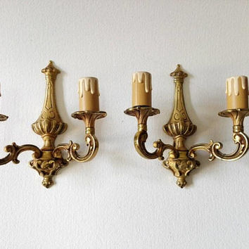 French, midcentury, Wall sconce, sconces, retro lighting, wall light, wall lamp, vintage lighting, home decor, shabby chic, retro lamp, chic