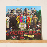 Beatles - Sgt. Pepper's Lonely Hearts Club Band 50th Anniversary 2XLP | Urban Outfitters