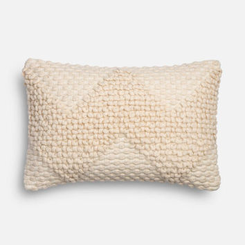Magnolia Home Fae Ivory Lumbar Pillow