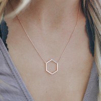 High Standards Necklace - Rose Gold