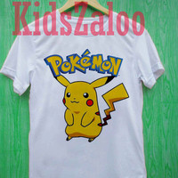 Pikachu pokemon For T-Shirt Unisex Aduls size S-2XL