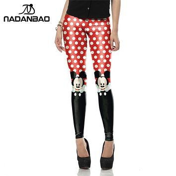 Nadanbao apparel New Arrival Red leggings