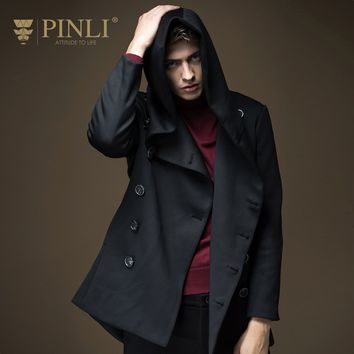 PINLI Double Breasted Jacket