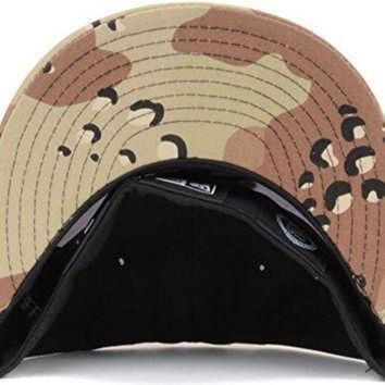 CREYON New Jersey Devils New Era NHL 59FIFTY Fitted Cap Hat '3-Way 6Day Camo' (7 1/8, Black-W