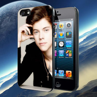 Harry Styles in action pattern Accessories, iPhone 4/4S,iPhone 5/5S/5C,Samsung Galaxy S3/S4, Case, Samsung Galaxy Case,Rubber Case