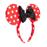 Disney Minnie Mouse Exclusive For ASOS Red & White Spot Ears & Bow Ali