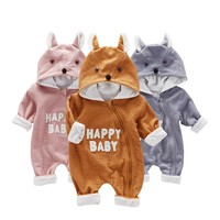 Baby Rompers Autumn Newborn Baby Clothes Spring Baby Boy Clothing Ropa Infant Jumpsuits Cute Baby Girls Clothes one-piece cloth
