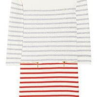 Juicy Couture | Striped cotton-jersey dress | NET-A-PORTER.COM