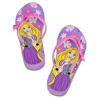Disney Princess Rapunzel Platform Flip Flops for Girls Toddlers Tangled