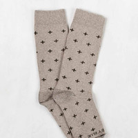 Bartrams Sock - Oatmeal Cross