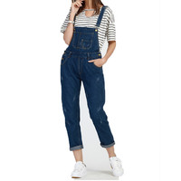 S-5XL Women Ripped Denim Slim Jumpsuits Long Pants Casual Skinny Sexy Stretch Romper Pencil Overalls For 4 Season Female