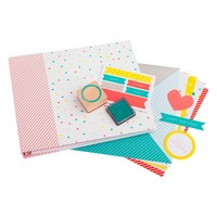 SCRAPBOOK ALBUM KIT: CONFETTI - Confetti - Party Collection - Collections - Stationery
