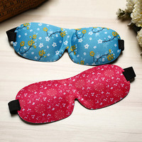 3D Portable Traceless Sleeping Eye Mask Travel Office Nap Eyepatch