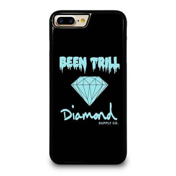 been trill diamond black iphone 4 4s 5 5s se 5c 6 6s 7 8 plus x case  number 1