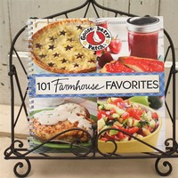Farmhouse Favorites Cookbook with Stand