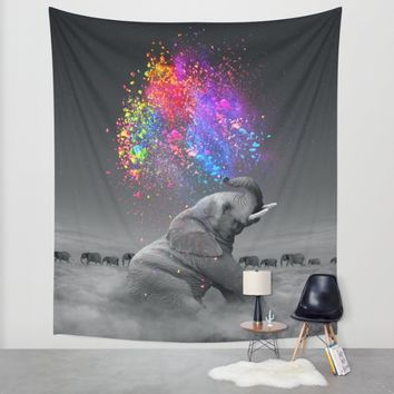 True Colors Within Wall Tapestry by Soaring Anchor Designs