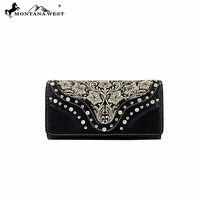 Montana West MW208-W002 Embroidered Wallet