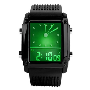 2018 high end smart watches for men wrist electronic digital Luminous Hands silicone watch fashion outdoor intelligent watch new
