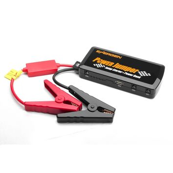 Energen Power Jumper P6, 12000 mAh, Car Jump Starter, Portable Power Bank, Portable Device and laptop battery charger