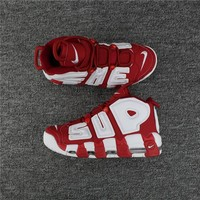 Supreme Nike Air More Uptempo Red/white 902290 600 Size 36 46 | Best Deal Online