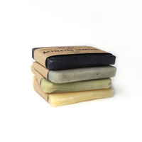 Natural soap ,handmade soap, soap sampler, soap set. men soap, Vegan Soap - All natural Soap - Men