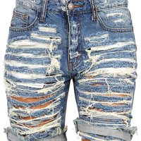 Bane Denim Shorts