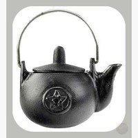 Pentagram Cast Iron Kettle