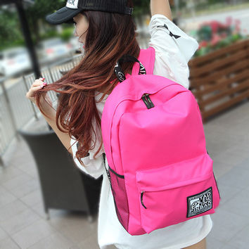 Casual On Sale College Comfort Back To School Hot Deal Summer Outdoors Travel Bags Korean Stylish Backpack [8403309575]