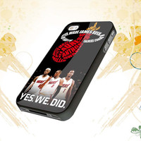 Miami Heat Big Three For iphone 4,4s,5,samsung galaxy s3 i9300,and s4 i9500