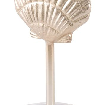 Shell On Pedestal Champagne Gold