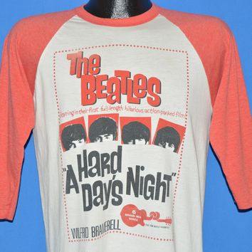80s The Beatles A Hard Days Night Movie t-shirt Medium