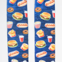Fast Food Galaxy Crew Socks
