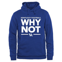 Kentucky Wildcats Why Not Pullover Hoodie - Royal Blue