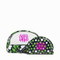 Vera Bradley Lucky You Clear Cosmetic Duo