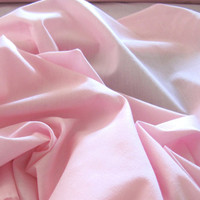 Brand New Spring Pink Harpers Cotton Blend Fabric By The Yard