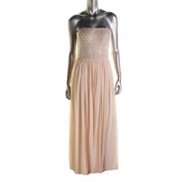 Aidan Mattox Womens Chiffon Prom Formal Dress