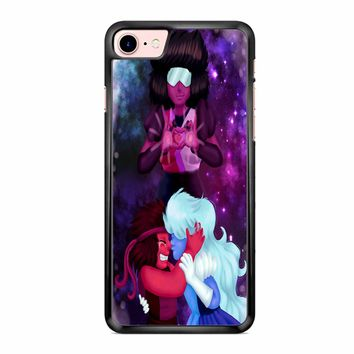 Ruby And Sapphire Steven Universe 3 iPhone 7 Case