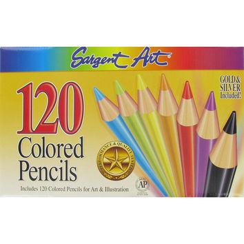 Sargent Art Colored Pencils 120-Piece Set | Hobby Lobby