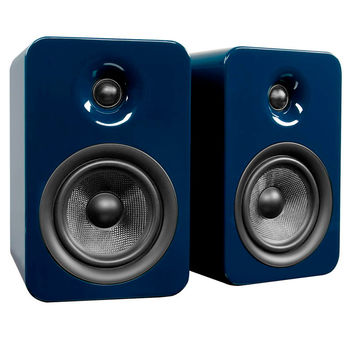 Kanto: Yumi Passive Bookshelf Speakers - Gloss Blue (YUMIP-BLUGL)