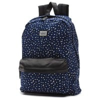 Vans Deana II Leopard Backpack (Leopard Herringbone/Twilight Blue)