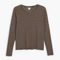 Monki | View all new | Striped top