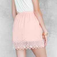 Winona Scalloped Skirt