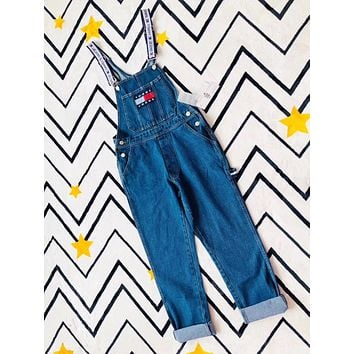 Tommy Jeans 90s Classic Logo Capsule Overall