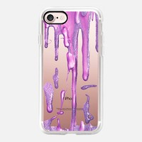Drizzle Amethyst Berry (transparent) iPhone 7 Case by Lisa Argyropoulos | Casetify
