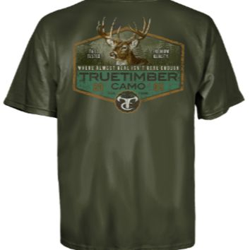 True Timber Legendary Deer Men's Short Sleeve T-Shirt
