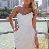 DRAPE MINI DRESS , DRESSES, RESTOCKING,,Minis Australia, Queensland, Brisbane