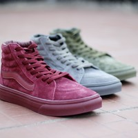 Trendsetter Vans SK8-Hi Old Skool Ankle Boots Canvas Flat Sneakers Sport Shoes